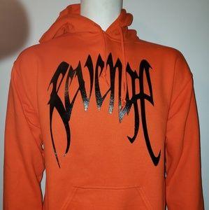"""Other - Xxxtentacion """"Revenge"""" Hoodie - Orange - New -"""